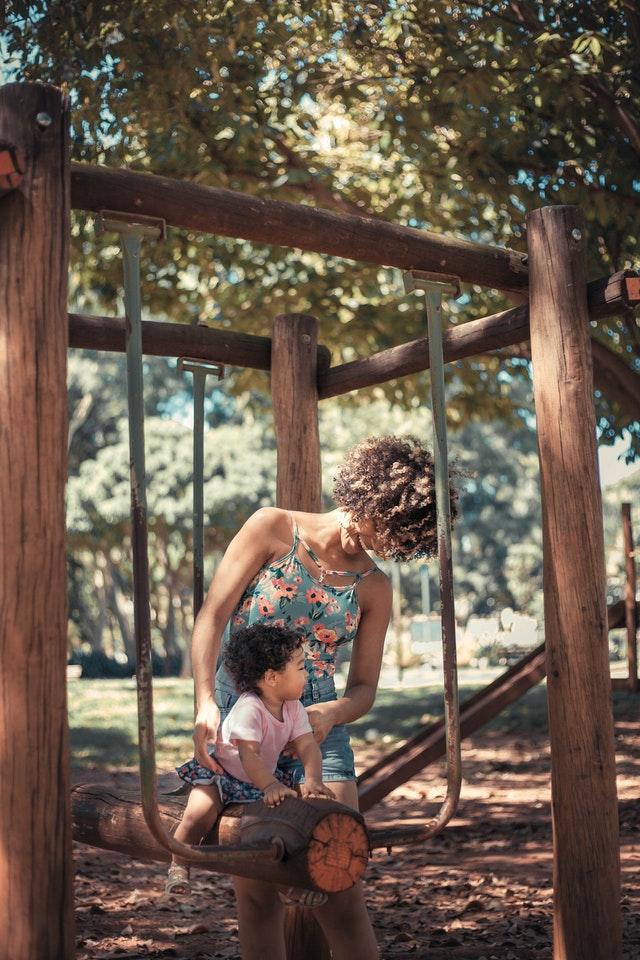 KIDS PLAYGROUND STAINING